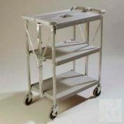 Chariot Fold 'N Go® Carlisle® SBC152123,15 x 21, gris