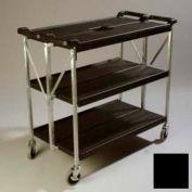 Chariot Fold 'N Go® Carlisle® SBC203103,20 x 31, noir