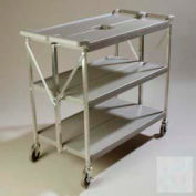 Chariot Fold 'N Go® Carlisle® SBC203123,20 x 31, gris