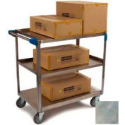 Carlisle® UC7032133 Stainless Steel Utility Cart 3 Shelf 700 Lb. Cap. 21x33