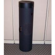 """Case Design 511 Rotunda Graphics Case - Trade Show Case - 14""""L x 14""""W x 44""""H, Black"""