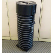 "Case Design 515 Tank Heavy Duty Shipping Case-Tube with Wheels - 14""L x 14""W x 41""H, Blk"