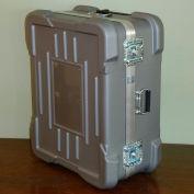 """Case Design Super-Shipper ATA Case 919 Wheeled Case Foam Filled - 46""""L x 28""""W x 15""""H Silver"""