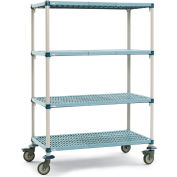 MetroMax Q Shelf Truck 2090501 Four Shelf 60x24x68""