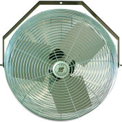 "TPI Workstation Fan - 18"" Blade Diameter - 1/8 Hp - Wall-Mount"