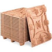 "Litco Nestable Presswood Pallets - Standard - 48""L x 40""W x 5.6""H - 25000-Lb. Capacity On Floor - Pkg Qty 5"