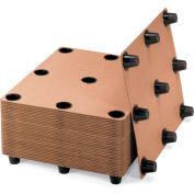 Protecta-Pack Systems Corrugated Pallets - 9 Legs - Pkg Qty 10