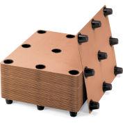 Protecta-Pack systèmes ondulé palettes - 9 pieds, qté par paquet : 10
