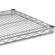 """Extra Shelf For Open Wire Shelving - 48X24"""" - Green Epoxy"""