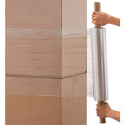 "Extended Core Stretch Wrap - 20"" x 1000' - 80 Gauge, Cast - Pkg Qty 4"