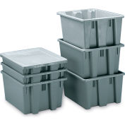 Rubbermaid Palletote Lid FG173000GRAY Fits Boxes FG173 - Pkg Qty 10