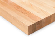 """Global Industrial™ Maple Butcher Block Square Edge Workbench Top, 120""""W x 36""""D x 1-3/4""""H"""