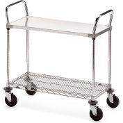 """Metro Galvanized/Wire Carts - 48""""W x 24""""D Shelf"""