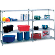 "Metro 5AA567C Super Adjustable 2 Shelving - 60x24x74"" - Add-On Units"