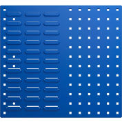 Bott 14025153.11 Steel Toolboard - Combo Perfo/Louvered Panels 20X18
