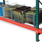 "Global Industrial™ Kwik Klip Wire Decking Divider, 34""D x 10""H"
