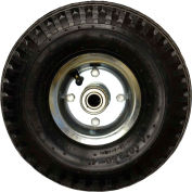 "Full-Pneumatic Tires - 10""Dia.X4""W Wheel - Black"