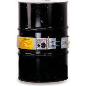 Chauffe-tambour avec commande de thermostat pour tambour en acier de 55 gallons, 60-250°F, 120V