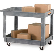 "Relius Solutions®  Economical Tray-Shelf Carts - 36""Wx24""D Shelf"