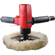 "Chicago Pneumatic CP7265P, 7"" Heavy Duty Vertical Polisher, 2500 RPM, 3/8"" Hose ID, 1/4""Air Intake"