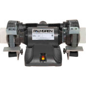 """Palmgren 9682081 Bench Grinder W/Wheel Guards & Dust Collection Ports , 8"""" Wheel Dia"""