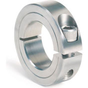 "One-Piece Clamping Collar, 3/4"", Stainless Steel"
