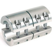 "2-Piece Industry Standard Clamping Couplings, 3/8"", Stainless Steel"
