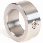 """Corrosion Resistant Set Screw Collar CR, 5/16"""", 316 Stainless Steel"""