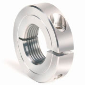 One-Piece Threaded Clamping Collar Recessed Screw, Stainless Steel, TC-050-20-S