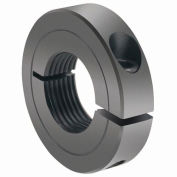 One-Piece Threaded Clamping Collar Recessed Screw, Black Oxide Steel, TC-100-14