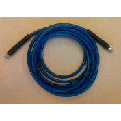 """JanSan Manufacturing Cleaning Solution Hose 150' x 1/4"""", Blue - 30-12102"""