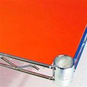 PVC Shelf Liners 12 x 72, Orange (2 Pack)