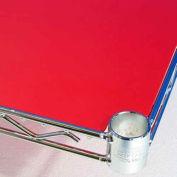 PVC Shelf Liners 12 x 72, Red (2 Pack)