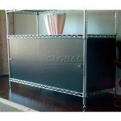 Enclosure Kit - Slide Door 18 x 42 x 18, Light Grey