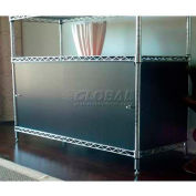Enclosure Kit - Slide Door 18 x 42 x 18, Purple