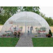 "Clear View Greenhouse Kit 20'W x 10'7""H x 36'L - Natural Gas"
