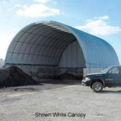 Econoline Storage Building 26'W x 12'H x 20'L Green Pony Wall