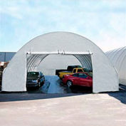 Standard 20'W Zippered End Panel - White for Econoline buildings