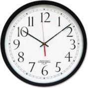 "The Chicago Lighthouse Atomic Clock 16,5"" Noir"