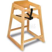 Koala Kare® Deluxe Wood High Chair, Light Wood Finish, 1-Pack