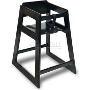 Koala Kare® Deluxe Wood High Chair, Black Finish, 1-Pack