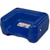 Koala Kare® Booster Seat, Dual Heights, Extra Wide Base, Blue, 4-Pack