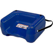 Koala Kare® Booster Seat with Strap, Dual Heights, Extra Wide Base, Blue, 1-Pack