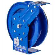 Coxreels PC19L-7516 Power Cord Spring Rewind Reel: 16 AWG, 75' Less Cord & Accessory