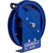 Coxreels SDL-50 Spring Rewind Static Discharge Cable Reel, 50' Cable Capacity, Less Cable