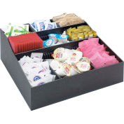 "Cal-Mil 1260 Adjustable Condiment Organizer 12""W x 12""D x 5-1/2""H"