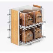 """Cal-Mil 1480 2 tiroir à pain boîte 12 """"W x 12 «D x 6"""" H"""