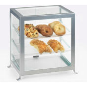 "Cal-Mil 1574-13 Soho Display Case 17-1/4""W x 12-5/8""D x 20-3/4""H Black"