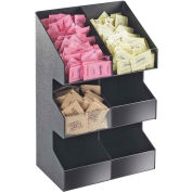 """Cal-Mil 2054 Classic Three Tier Condiment Display 6 sections, 10-1/4""""W x 6-5/8""""D x 16""""H"""