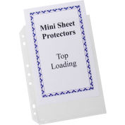 C-Line Products Mini Size Top Loading Poly Sheet Protector, 5,5 » x 8,5 », Heavyweight, Clear, 240/Set